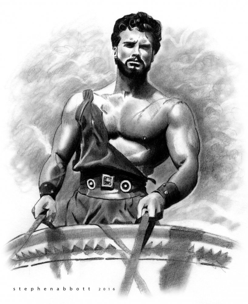 Steve Reeves by StephenAbbott